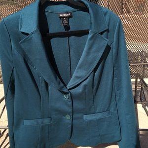 Lane Bryant Hunter Green Jacket